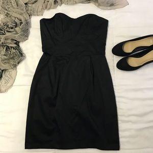 NWOT Women's H&M Black Formal Strapless Dress
